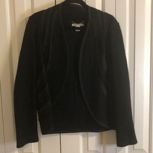 3/$15 Nikki Valenti size S 100% wool short jacket